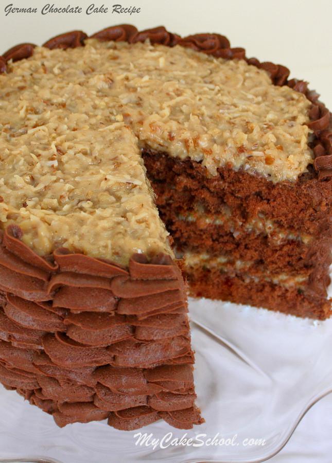 Moist German Chocolate Cake Recipe  German Chocolate Cake Recipe Scratch