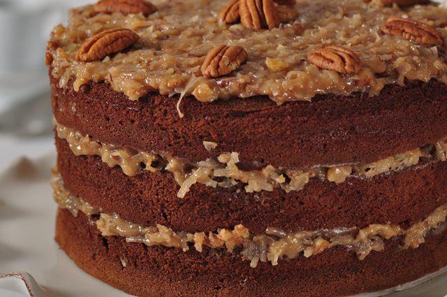 Moist German Chocolate Cake Recipe  German Chocolate Cake Recipe Joyofbaking Video Recipe