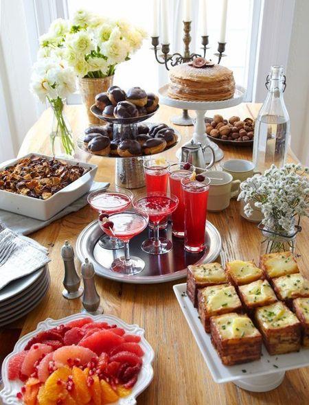 Mother'S Day Breakfast Recipes  Best 25 Brunch Table Ideas Pinterest Birthday Brunch