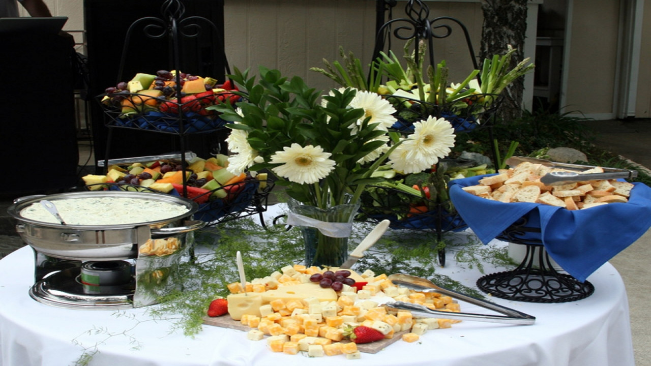 Mother'S Day Breakfast Recipes  Decorating Round Tables Buffet Table Idea Informal Table