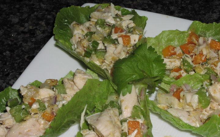 Mother'S Day Breakfast Recipes  Cajun Chicken Salad Bites Recipe Recipezazz