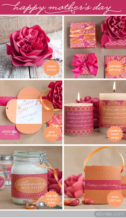 Mother'S Day Dessert Ideas  DIY Mother's Day Gift Ideas From The Elli Blog
