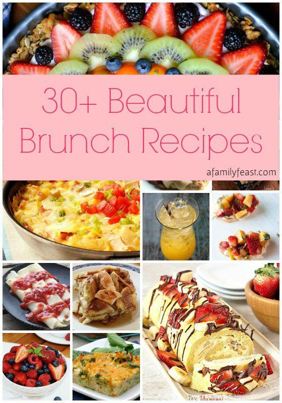 Mother'S Day Dessert Ideas  30 Beautiful Brunch Recipes for Mother s Day
