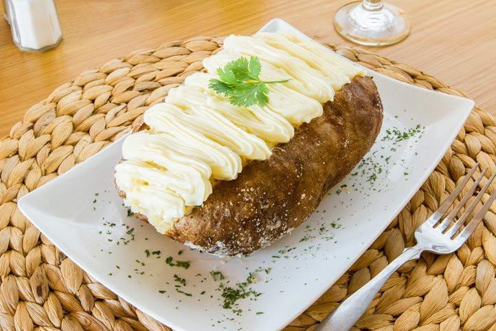 Mrs Potato Restaurant  Chicken catupiry baked Potato Yelp