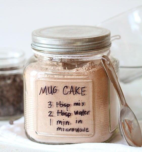 Mug Cake Mix  chocolate mug cake in 1 minute i am baker