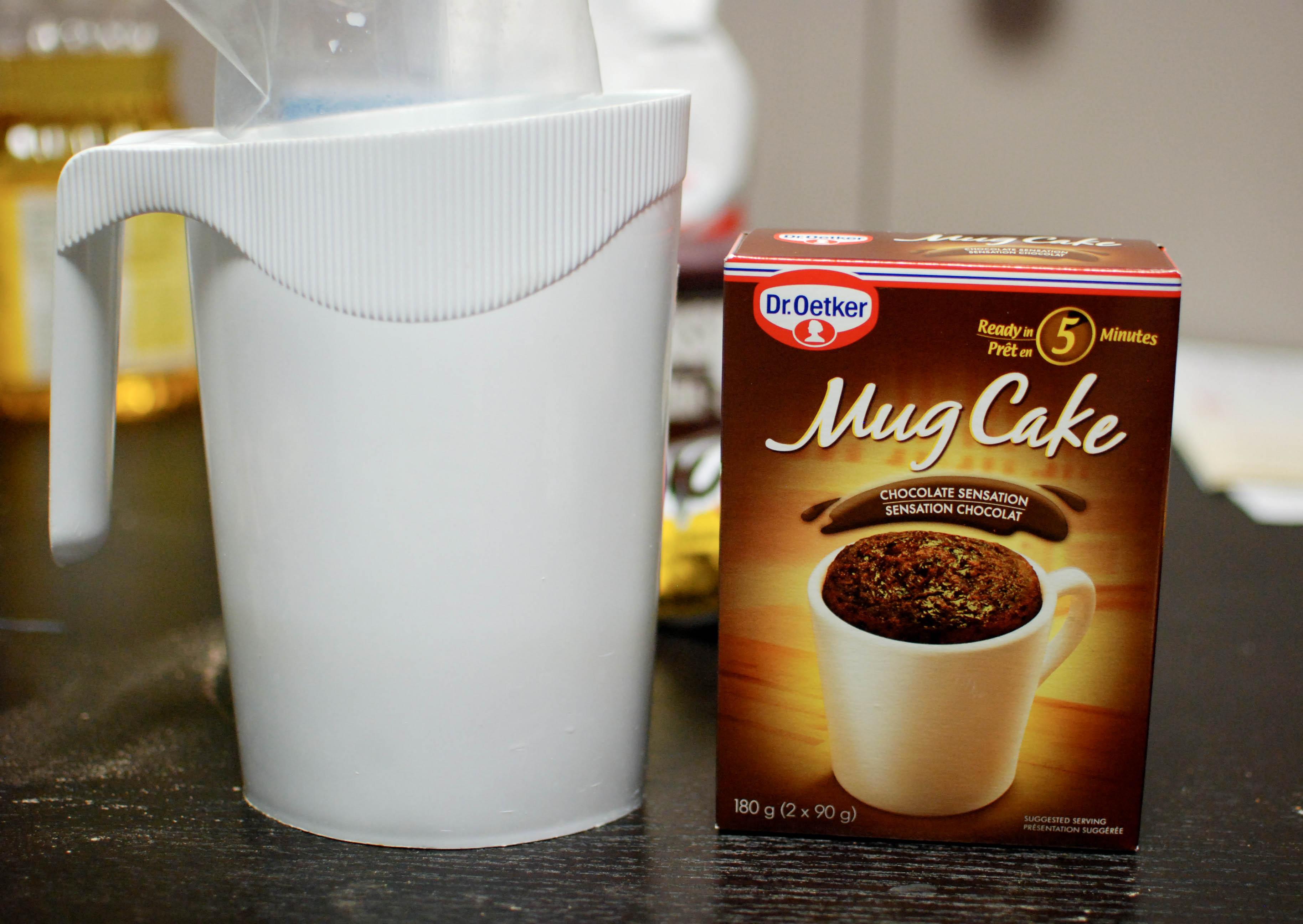 Mug Cake Mix  Food Lab Mug cake