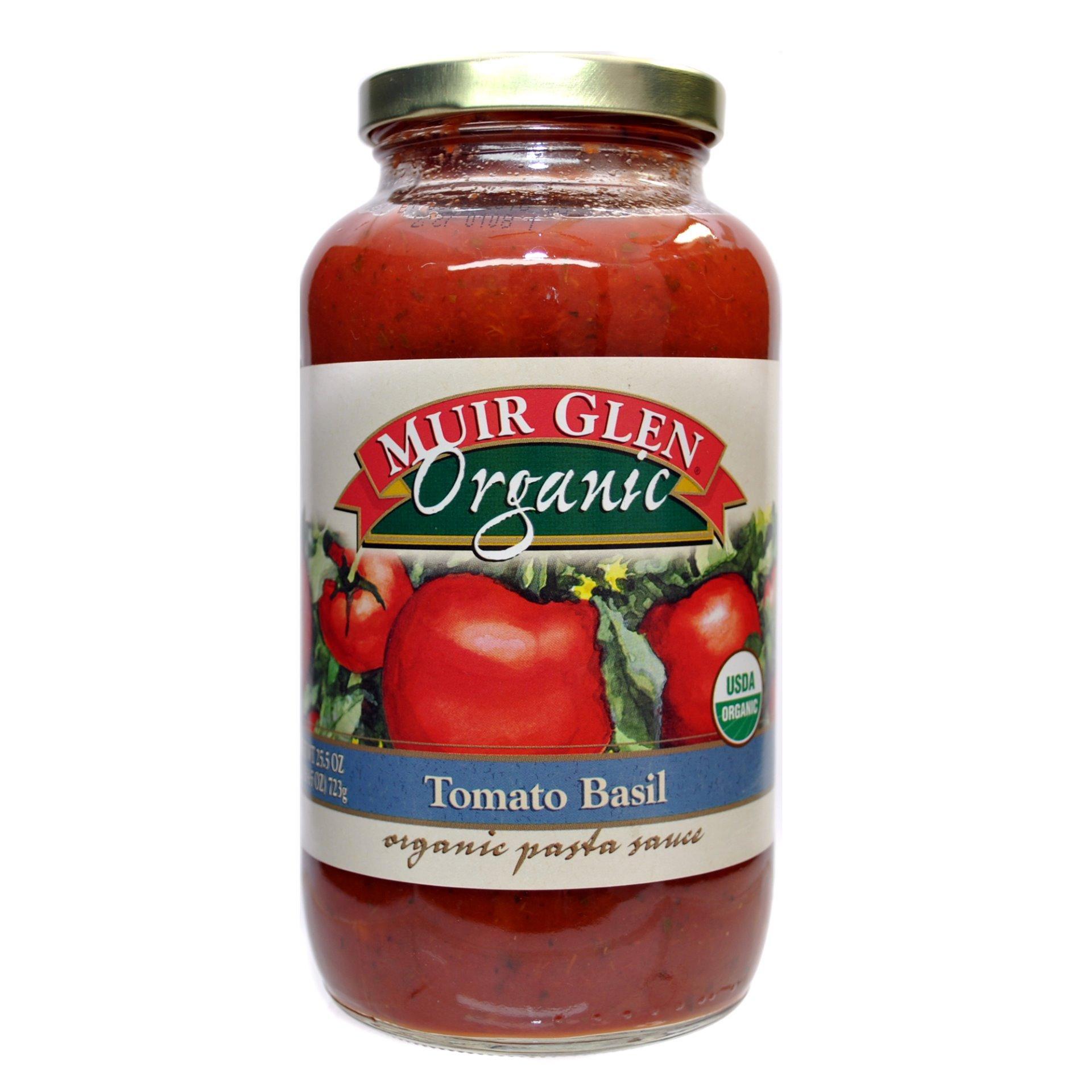 Muir Glen Tomato Sauce  MUIR GLEN Organic Tomato Basil Pasta Sauce 723g