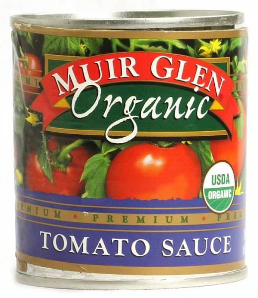 Muir Glen Tomato Sauce  Muir Glen Organic Tomato Sauce 8 oz Regular 24 Pack