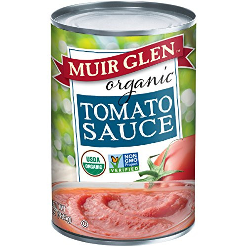 Muir Glen Tomato Sauce  Muir Glen Organic Tomato Sauce No Sugar Added 15 Ounce