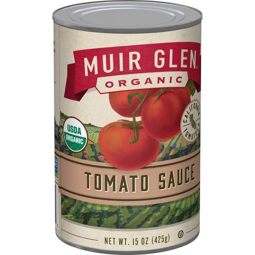 Muir Glen Tomato Sauce  Muir Glen Organic Tomato Sauce 15oz Tar