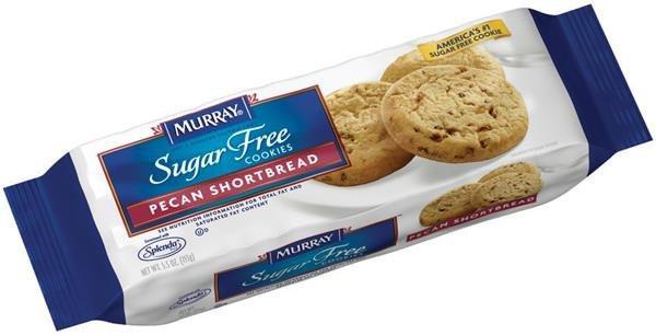 Murray Sugar Free Cookies  Murray Pecan Shortbread SUGAR FREE Cookies 5 5 oz
