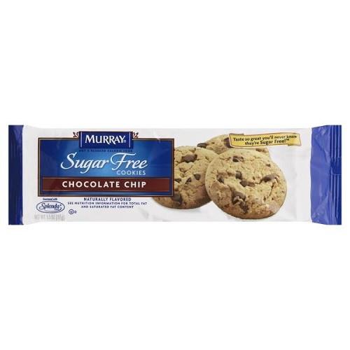 Murray Sugar Free Cookies  Murray Sugar Free Chocolate Chip Cookies 5 5 oz