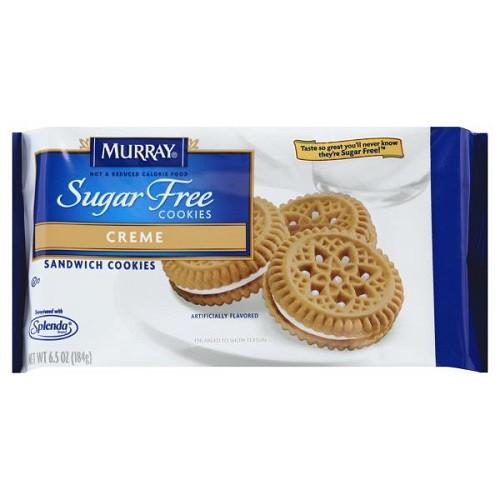Murray Sugar Free Cookies  Murray Sugar Free Sandwich Cookies Creme 6 5 oz