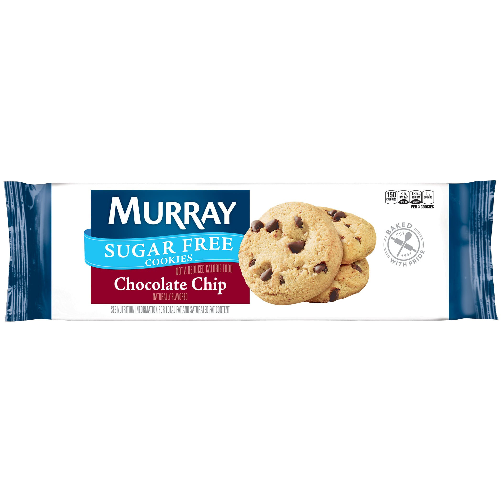 Murray Sugar Free Cookies  Murray Sugar Free Chocolate Chip cookies
