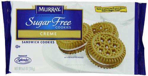 Murray Sugar Free Cookies  Murray Sugar Free Cookies Creme Sandwich 6 5 Ounce