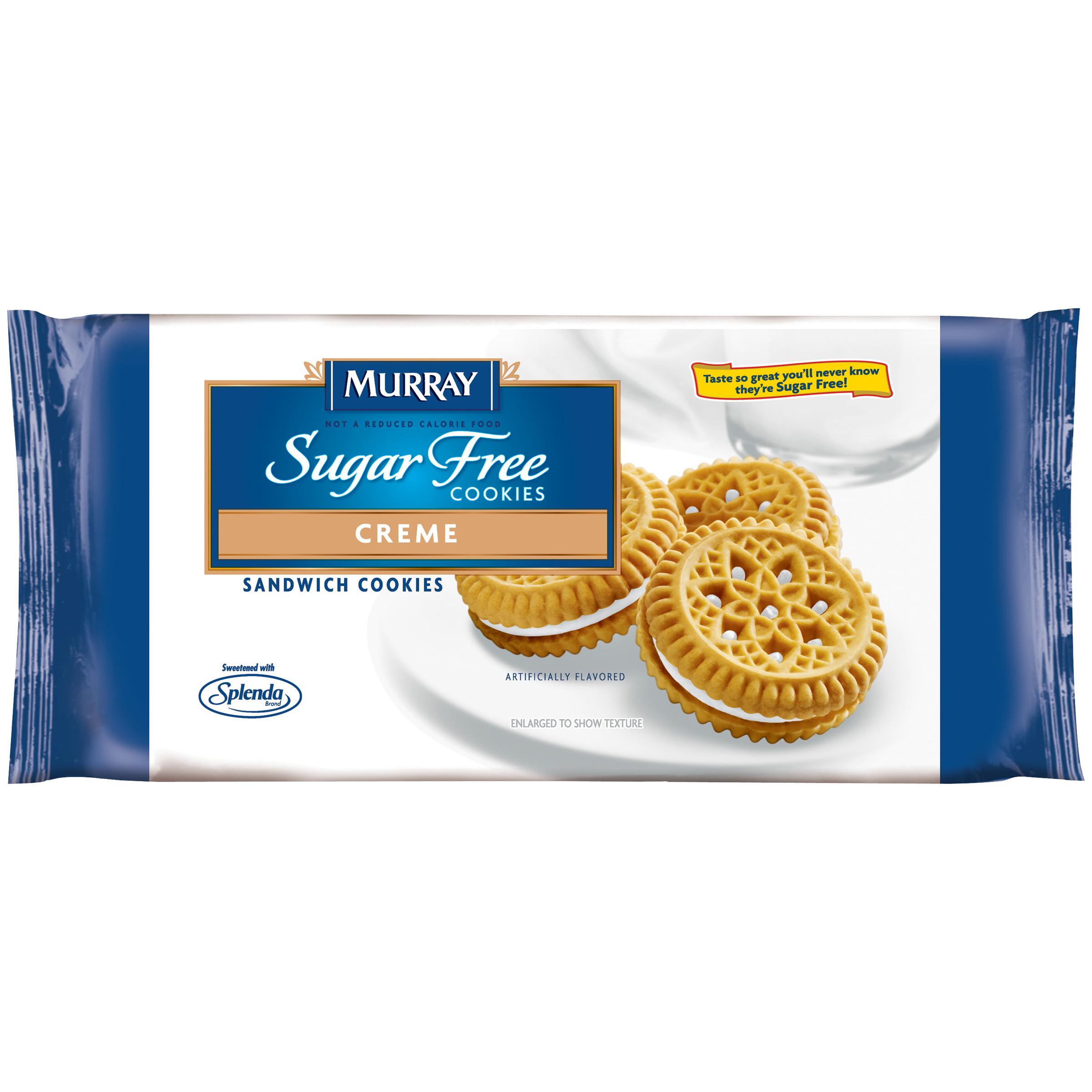 Murray Sugar Free Cookies  Murray Cookies Sugar Free Creme Sandwich Cookies 6 5 oz