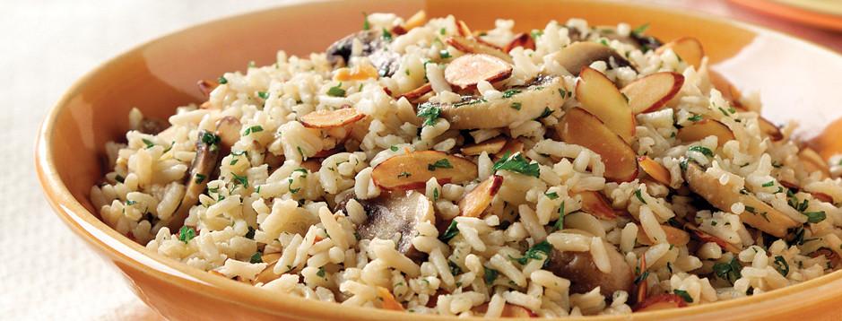 Mushroom Rice Pilaf  Minute Mushroom Rice Pilaf We can help