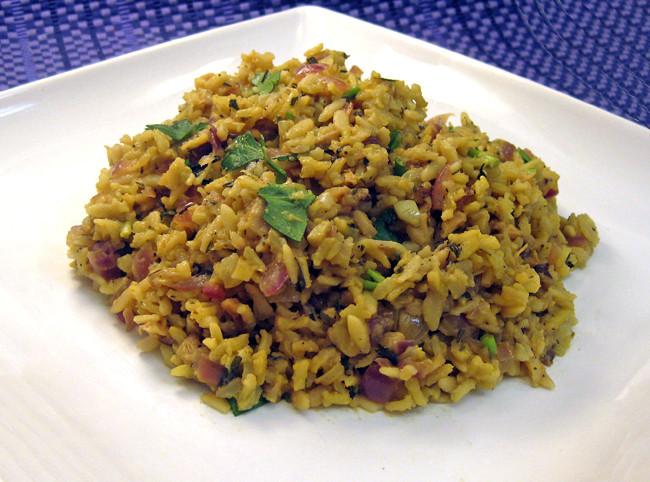 Mushroom Rice Pilaf  Cooking with Corey Recipe 236 Mushroom Rice Pilaf with