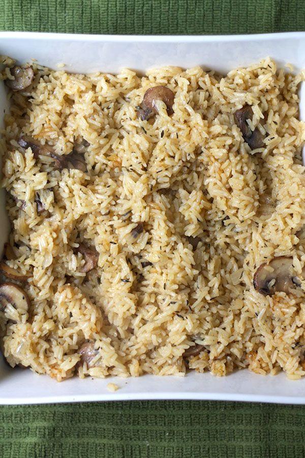 Mushroom Rice Pilaf  Mushroom Rice Pilaf