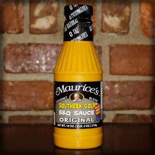 Mustard Based Bbq Sauce  Maurice s Piggie Park Southern Gold BBQ Sauce The
