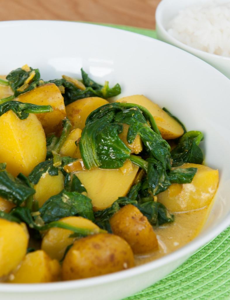 New Potato Recipe  New Potato Curry Recipe — Dishmaps