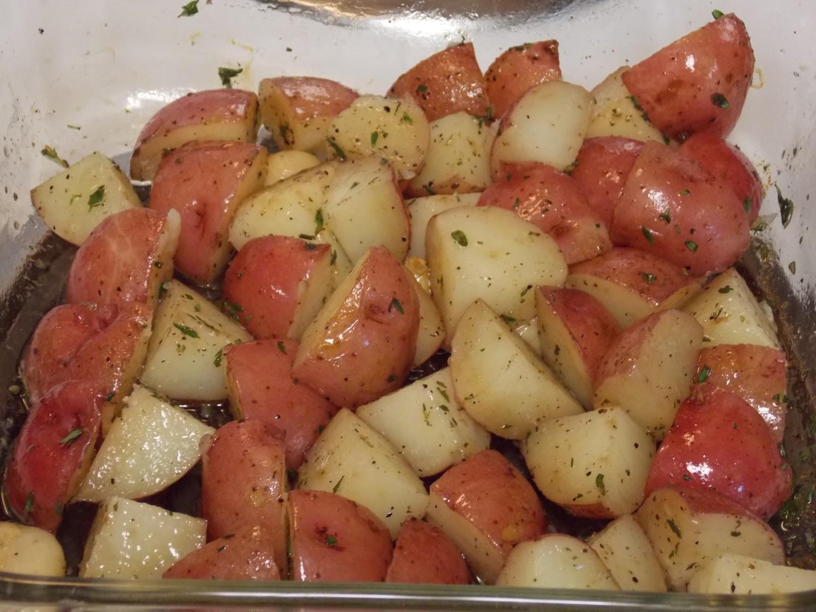 New Potato Recipe  roasted new red potatoes