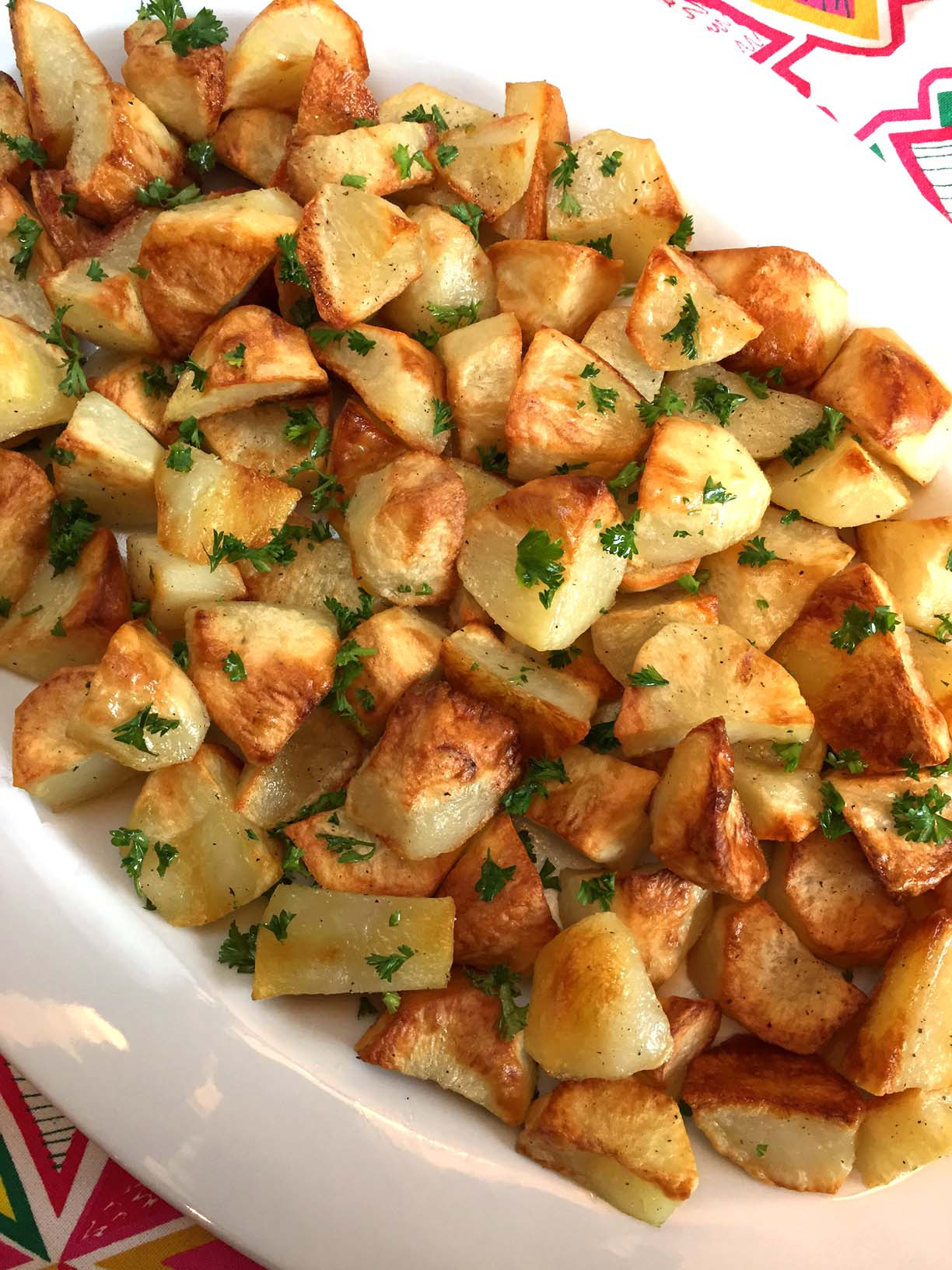 New Potato Recipe  Easy Oven Roasted Potatoes Recipe – Best Ever – Melanie Cooks