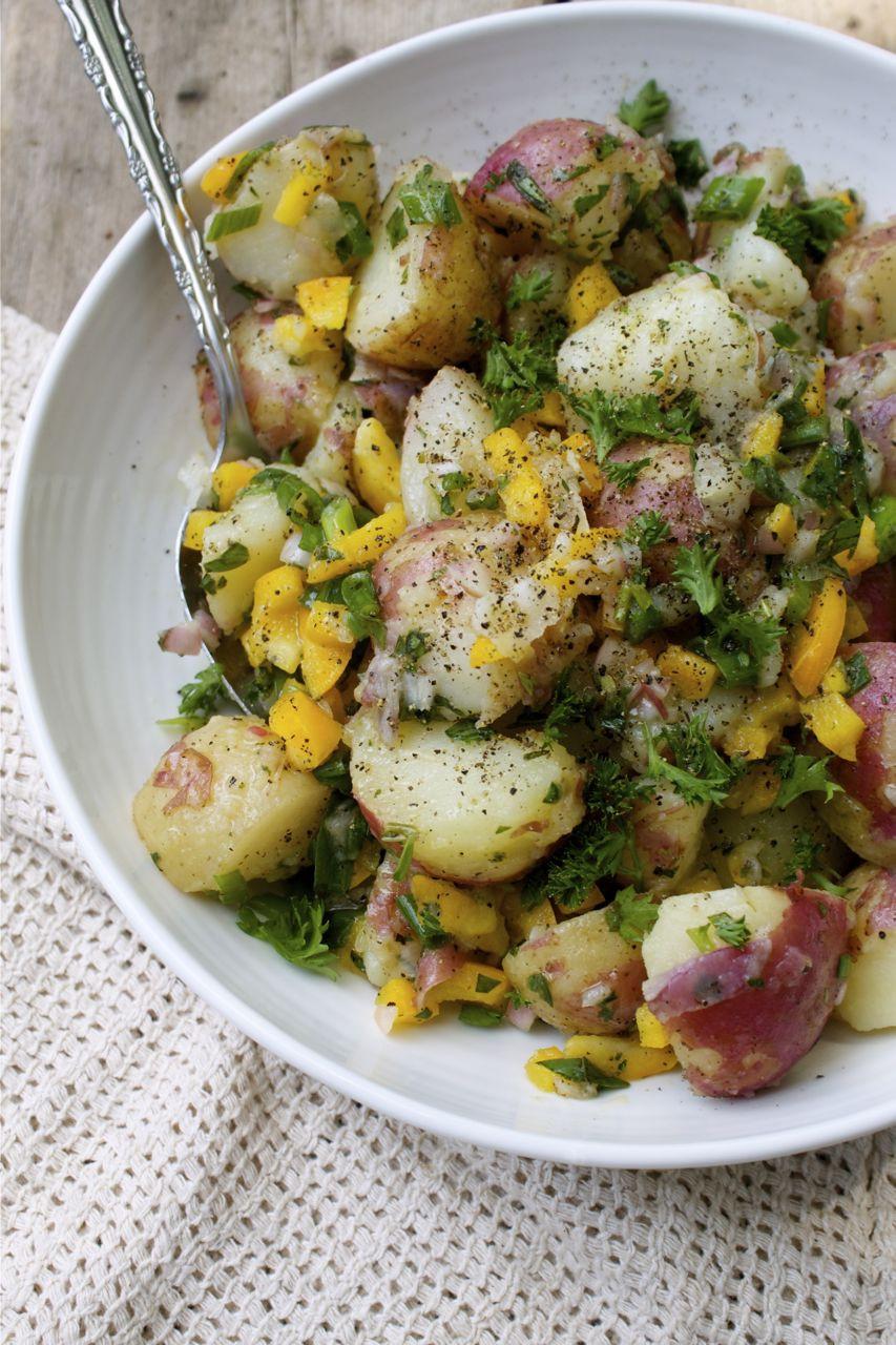 New Potato Recipe  New Potato Salad Recipe — Dishmaps