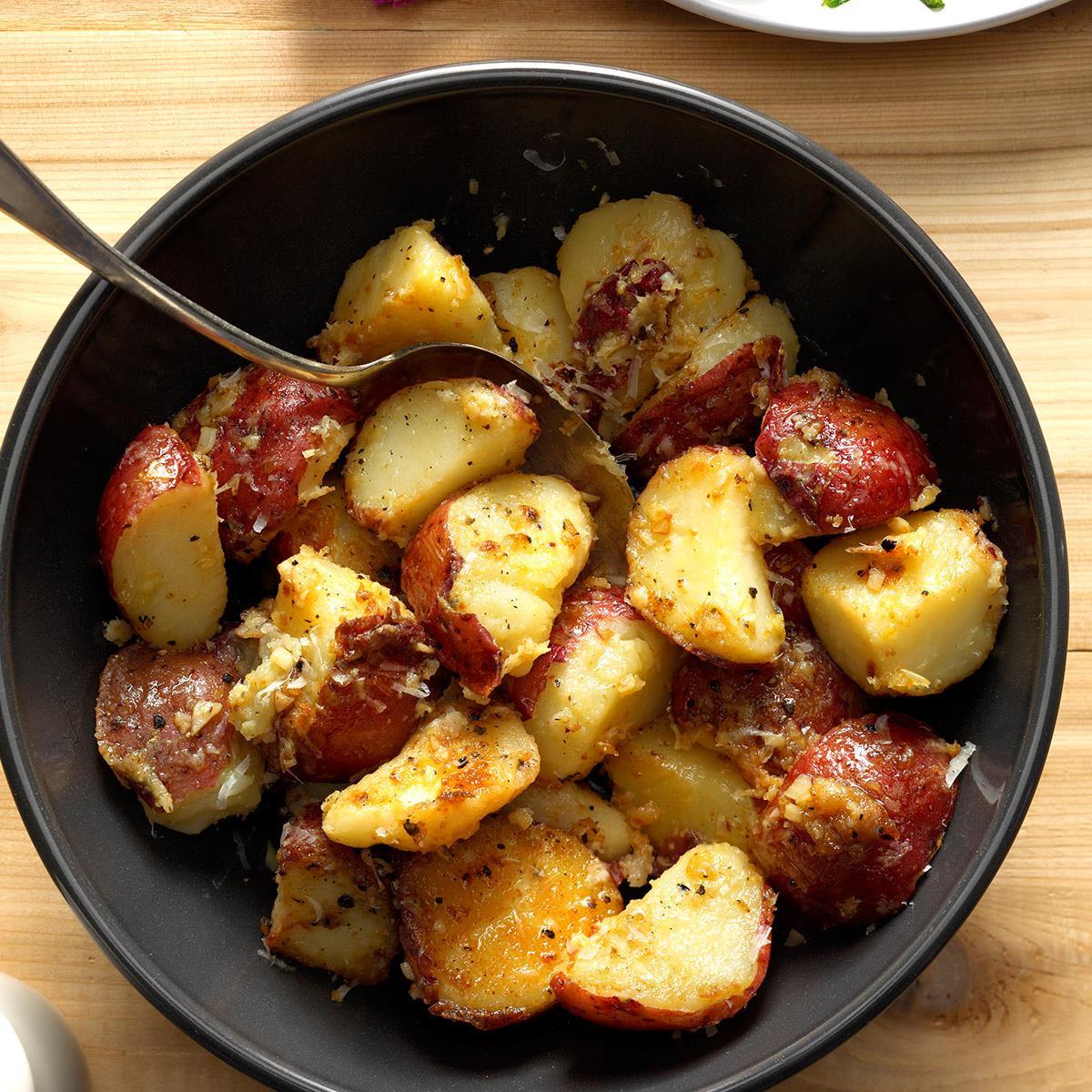 New Potato Recipe  Lemon & Garlic New Potatoes Recipe