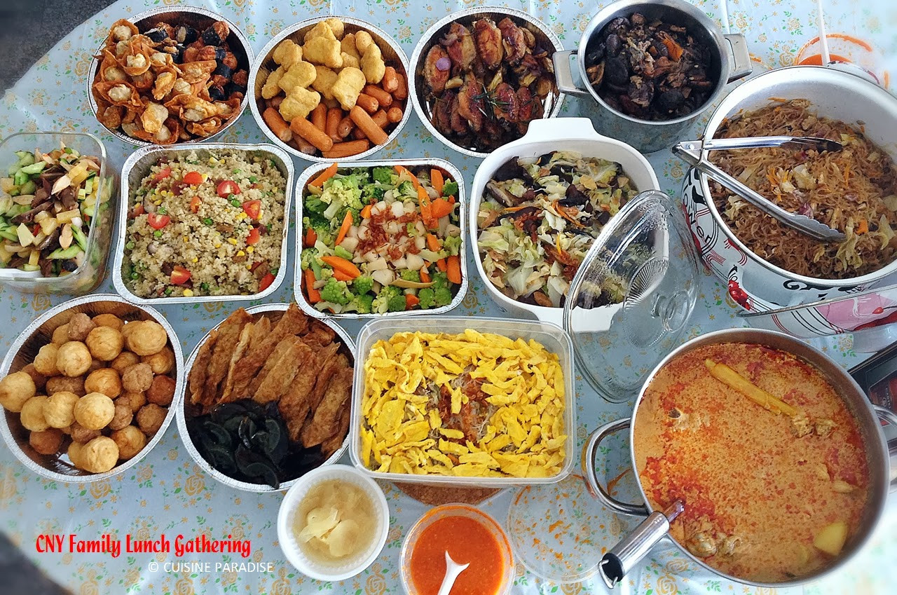 New Year Day Dinner Ideas  Cuisine Paradise Singapore Food Blog