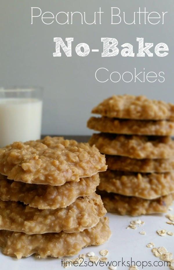 No Bake Cookies Peanut Butter  Peanut Butter No Bake Cookies Recipe Kasey Trenum