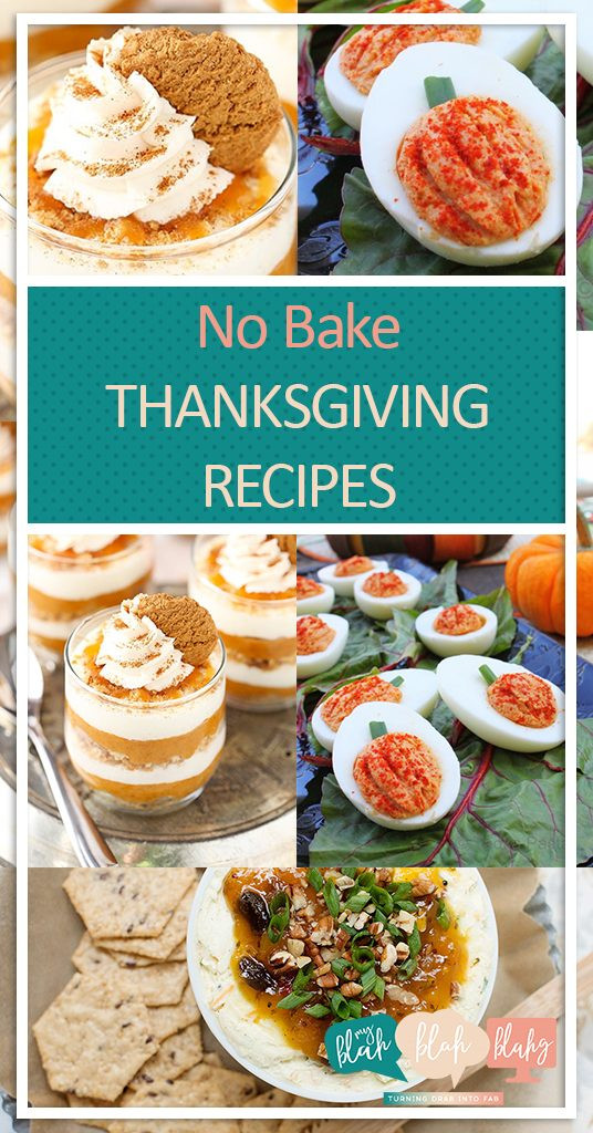 No Bake Thanksgiving Desserts  No Bake Thanksgiving Recipes