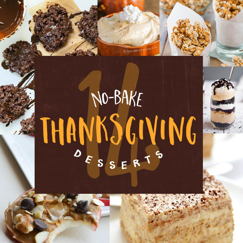 No Bake Thanksgiving Desserts  14 no bake Thanksgiving desserts Thanksgiving