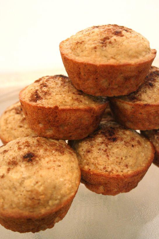 Oatmeal Applesauce Muffins  Healthy Applesauce Oatmeal Muffins