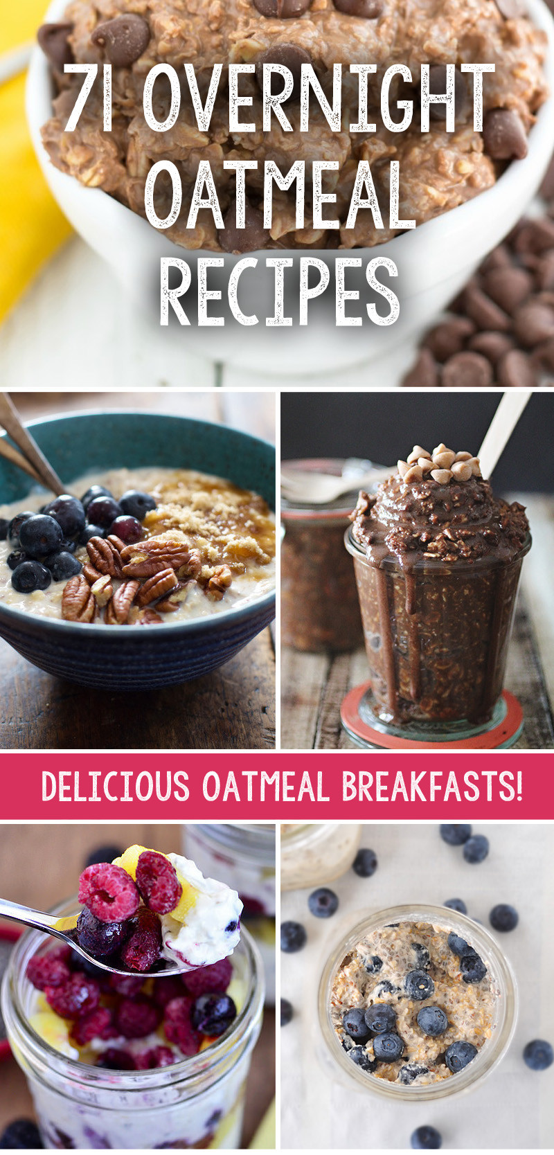 Oatmeal Recipes For Weight Loss  We have collected 71 incredible overnight oatmeal recipes