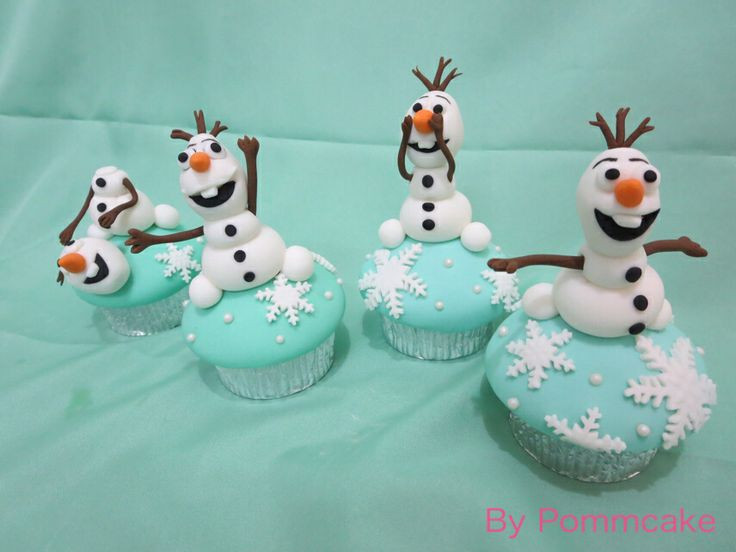 Olaf Cupcakes Cake  1494 besten Disney s Frozen Cakes Bilder auf Pinterest