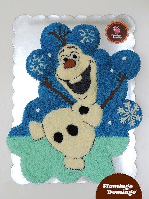 Olaf Cupcakes Cake  Frozen Olaf Cupcake Cake by Flamingo Domingo Olaf