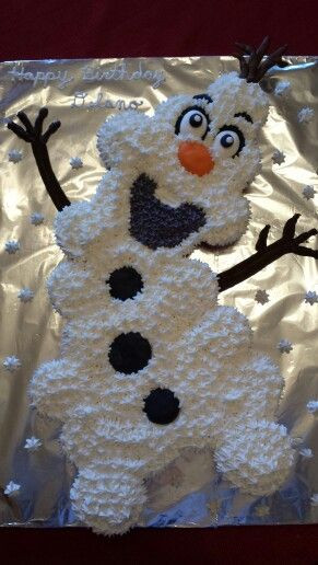 Olaf Cupcakes Cake  25 Best Ideas about Olaf Cupcakes on Pinterest