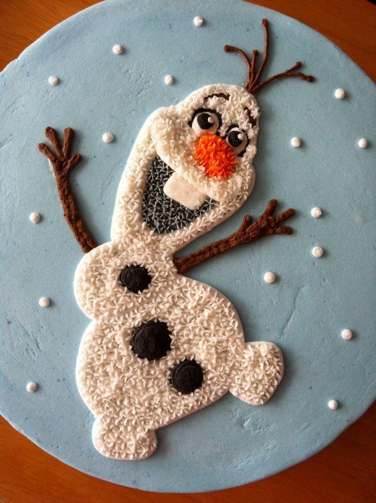 Olaf Cupcakes Cake  Olaf the Snowman Treats for Christmas