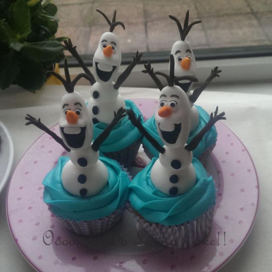 Olaf Cupcakes Cake  Olaf Cupcakes CakeCentral