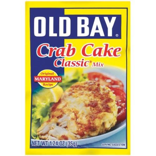 Old Bay Crab Cake Recipe  Old Bay Crab Cake Mix Classic 1 24 Oz