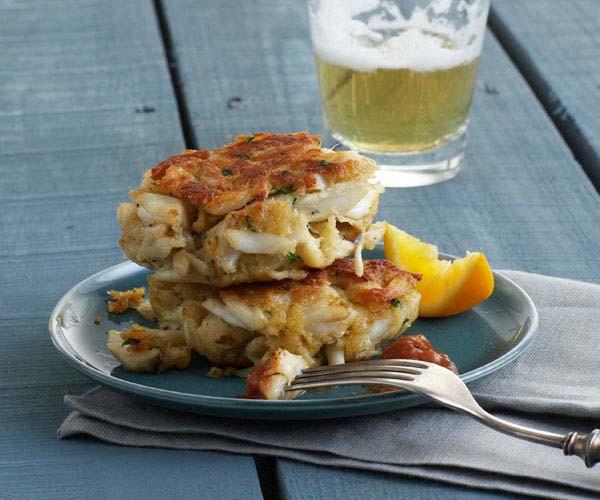 Old Bay Crab Cake Recipe  Classic Maryland Crab Cakes Recipe Recipe FineCooking