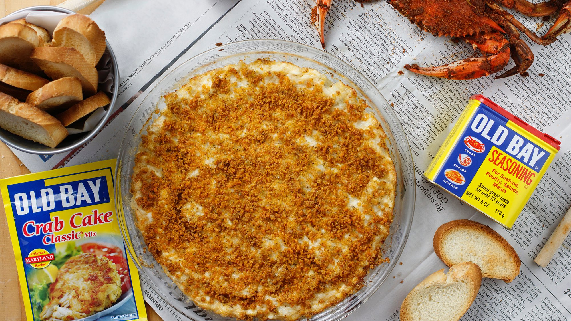 Old Bay Crab Cake Recipe  Maryland OLD BAY Crab Cake Dip