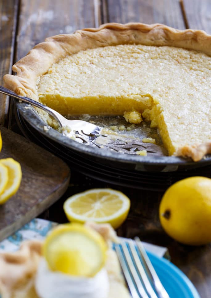 Old Fashioned Chess Pie  old fashioned lemon chess pie