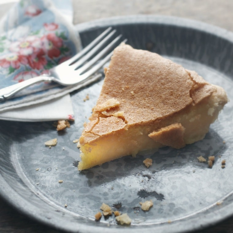 Old Fashioned Chess Pie  Old Fashioned Chess Pie • Loaves and Dishes