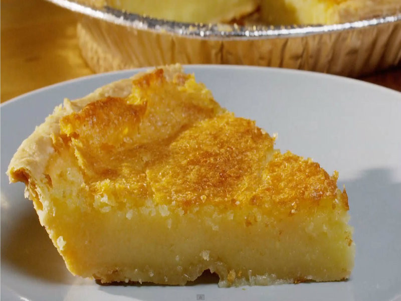Old Fashioned Chess Pie  Old Fashioned Buttermilk Chess Pie Recipe Video by