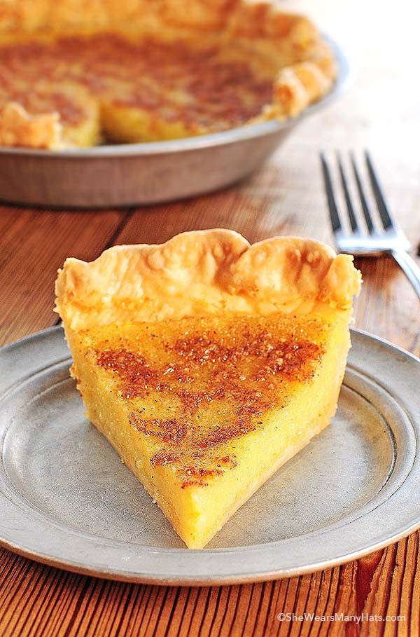 Old Fashioned Chess Pie  Chess Pie