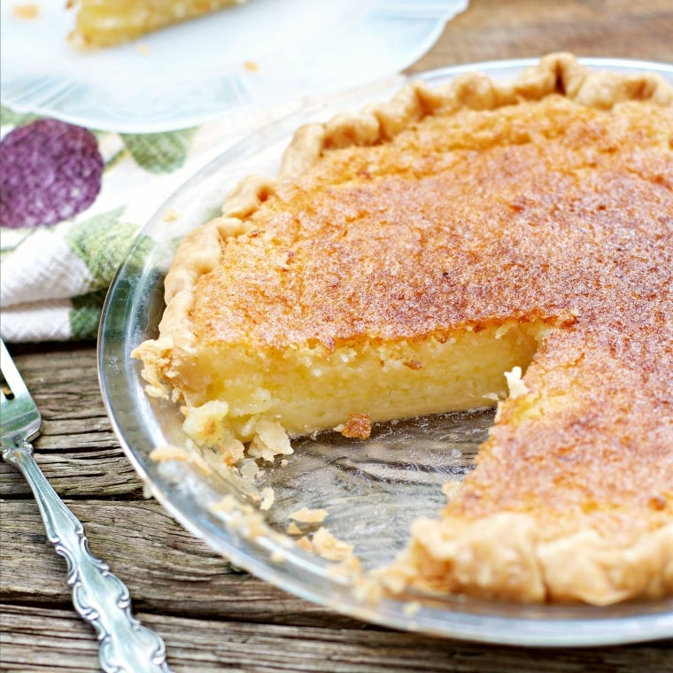 Old Fashioned Chess Pie  Old Fashioned Lemon Chess Pie Loaves and Dishes