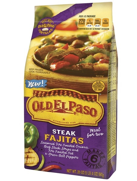 Old Frozen Dinner Brands  New Old El Paso products inspired by Mexico