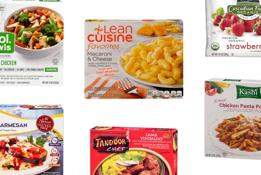 Old Frozen Dinner Brands  The 11 Healthiest Frozen Food Brands